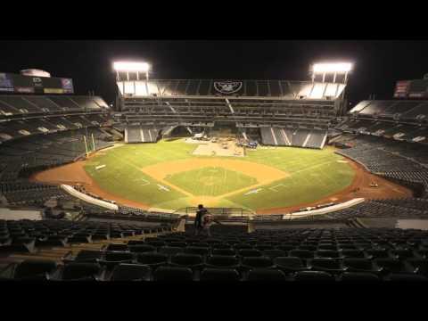 Oakland-Alameda County Coliseum Conversion Time Lapse