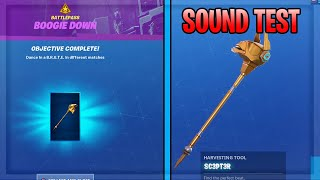How To Get SC3PT3R PICKAXE and BOOGIE DOWN CHALLENGES GUIDE in Fortnite Season 10!