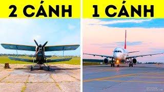 Tại sao máy bay chỉ có một cánh