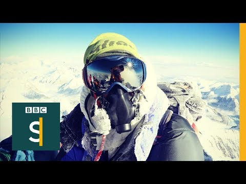 What's it like to queue on Everest? BBC Stories