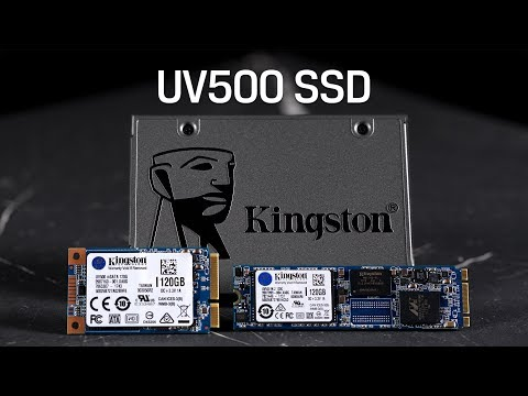 "2.5"", M.2 and mSATA Form Factor SSDs - Kingston UV500"