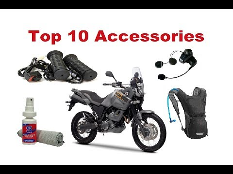 Top 10 Accessories You Should Have On A Long Motorcycle Trip