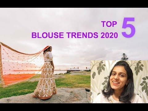 Latest Saree Blouse Designs 2020   Fashion Trends   Indian   Malayalam Vlog