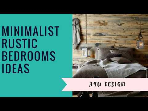 Minimalist Rustic Bedrooms Ideas