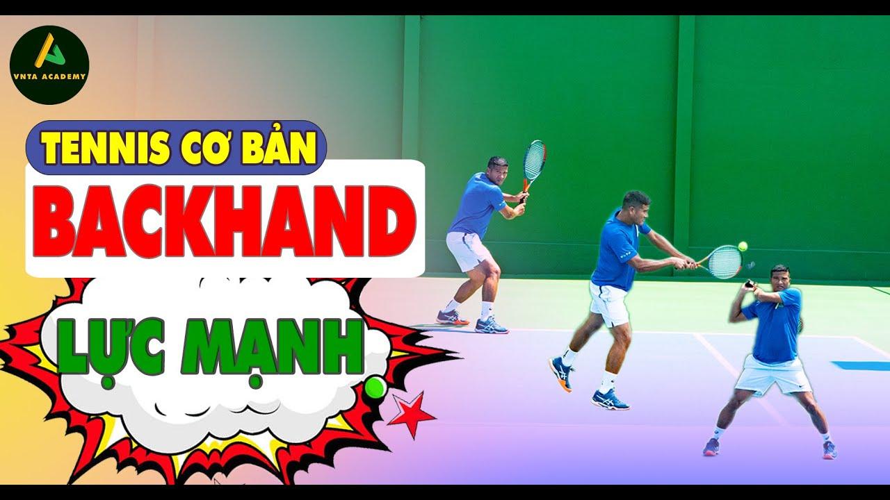 TENNIS BACKHAND| 2 Cách Di Giống Chuyên Nghiệp| Backhand Footwork Lesson| VNTA Tennis