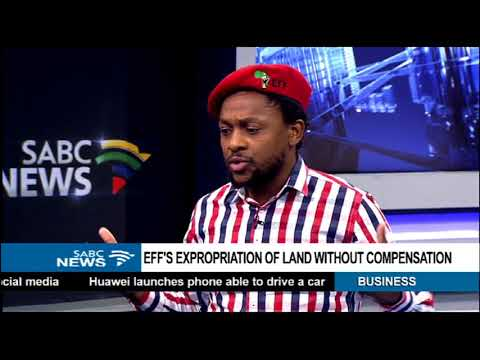 EFF's expropriation of land without compensation - Dr Ndlozi