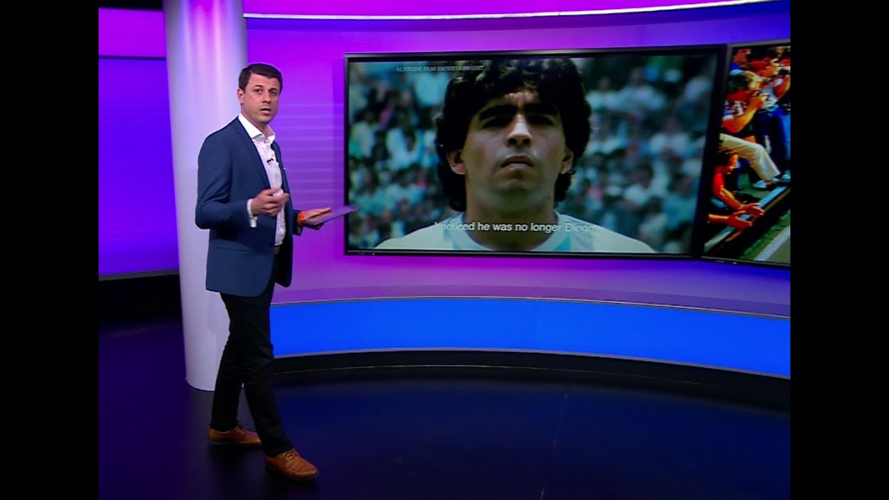 مارادونا يطالب جمهوره بمقاطعة فيلم وثائقي عن حياته.