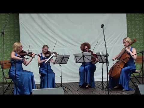 "И. Брамс - Венгерский танец № 5 -  ""Каприс  - квартет"""
