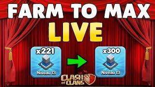 Clash of Clans - MAXONS NOTRE HDV12- Plus que 30 murs !!