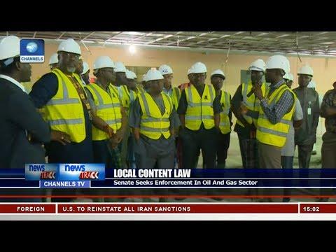Senate Cmte Visits Companies In Bayelsa, Rivers State