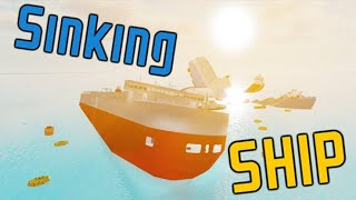 Univers Gigas - Gameplay Roblox Sinking Ship - 075.