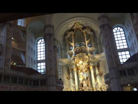 Inside Church of our lady - Dresden, Germany