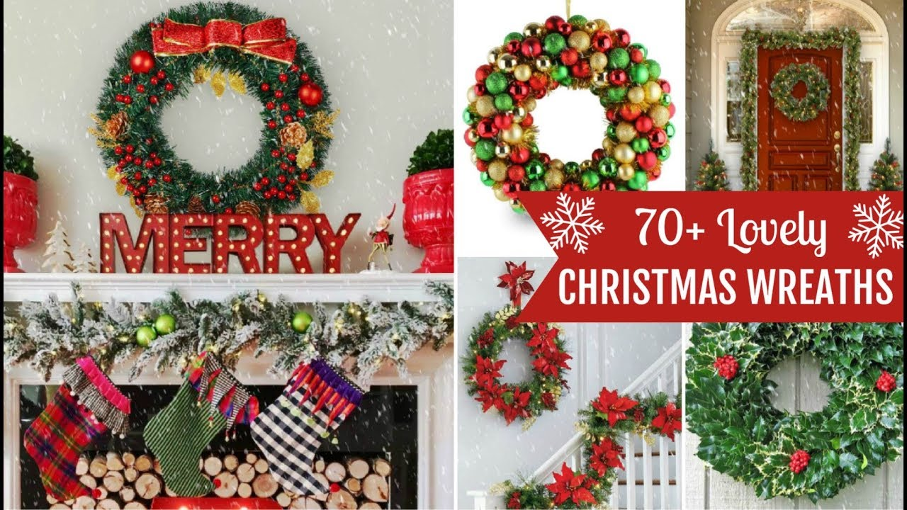 70+ Pretty Christmas Wreath Ideas! - YouTube