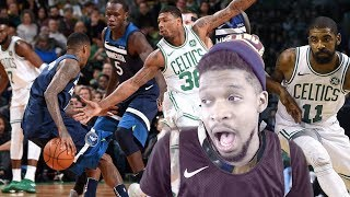 CELTICS ARE STARTING TO SCARE ME! CELTICS vs TIMBERWOLVES HIGHLIGHTS REACTION!