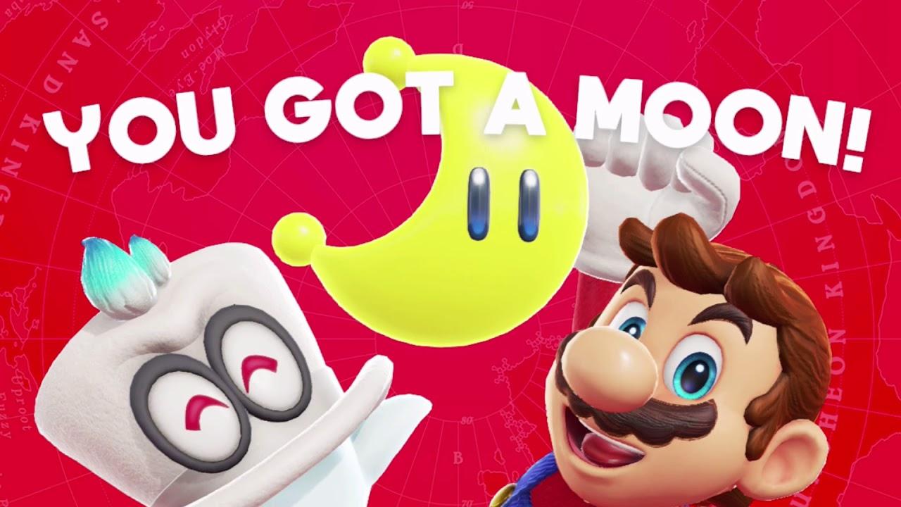 Super Mario Odyssey  - You Got A Moon Theme