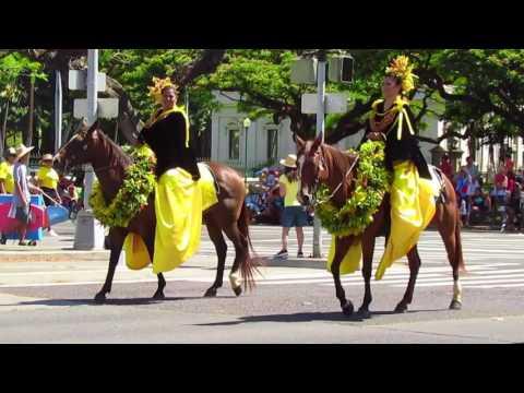 Kamehameha parade 2016