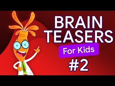 BRAIN TEASERS For KIDS #2 | See Your VISUAL, MATH And LOGIC Skills!