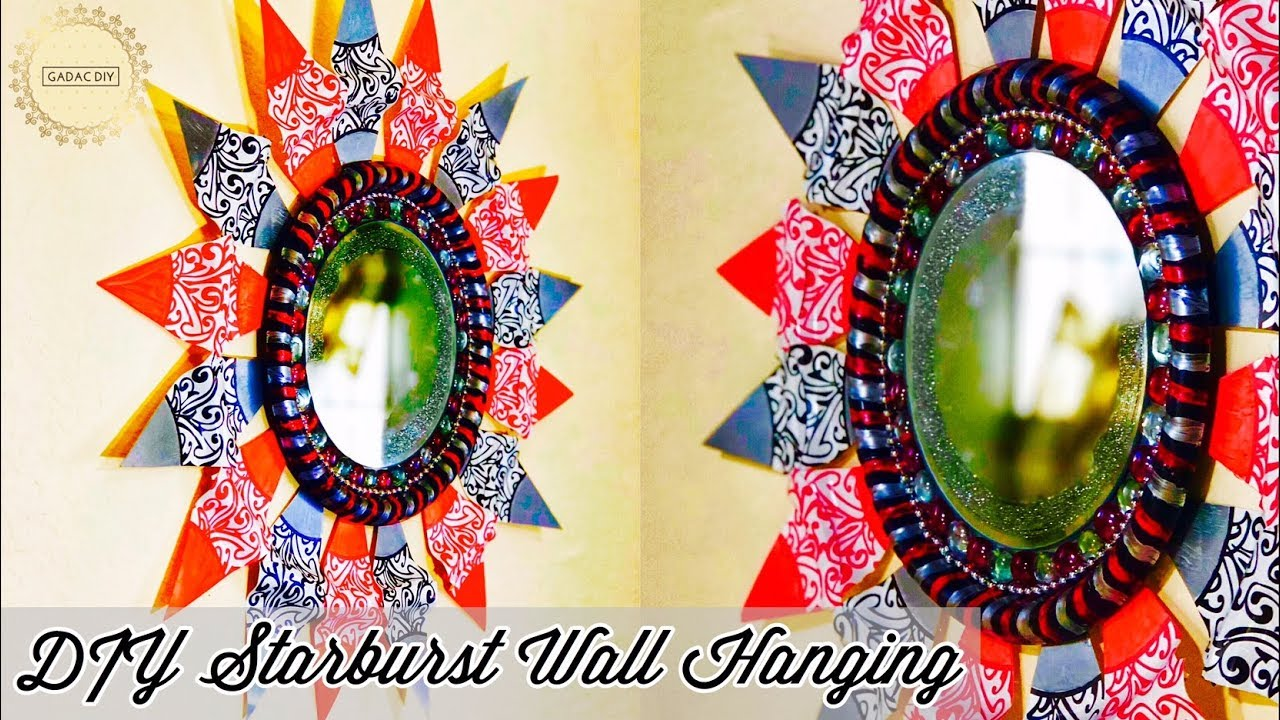 DIY Wall Hanging | wall hanging craft ideas | craft ideas for home ...