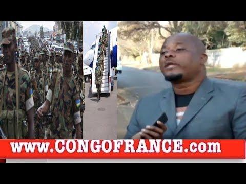RDC :BA SOLDATS RWANDAIS BA KOTI AEROPORT EN DIRECT DE KINSHASA, CONGO EKOTI NA INSÉCURITÉ TOTAL?