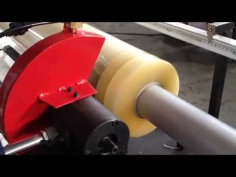 Manual BOPP Tape Cutting Machine (Vinyl Roll Slitter Machine)