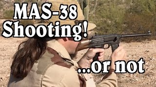 MAS-38 Shooting Fail