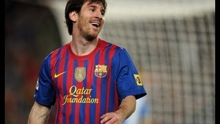 Messi scores FOUR in Barcelona win