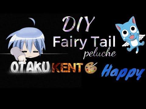 Fairy Tail Peluche| DIY | Happy | by Otaku Kent
