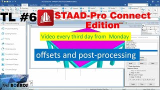 Plate Meshing, Applying Loads, Analysis And Post Processing In STAAD.Pro Connect Edition (06)