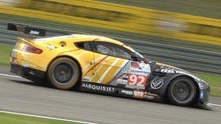 Aston Martin Vantage GT2 in Action at Nürburgring! - 4.5L N/A V8 Engine Sound!