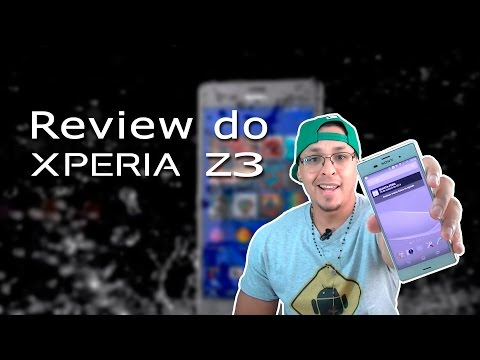 Review do Sony Xperia Z3 dual   D6633 Português