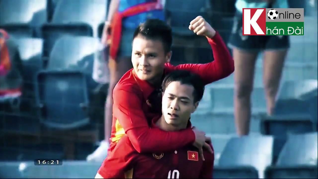Việt Nam 2 - 1 Thái Lan   Trận đấu đầu tiên HLV Park Hang-seo đưa Việt Nam vượt qua người Thái