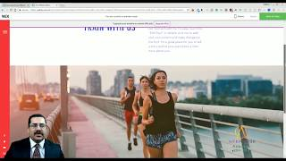 Running Group Template from Wix - Web Design - Tutorial