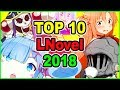 SAO DROPS OUT FROM NUMBER ONE? Top 10 Light Novel 2018 | Foxen Anime News