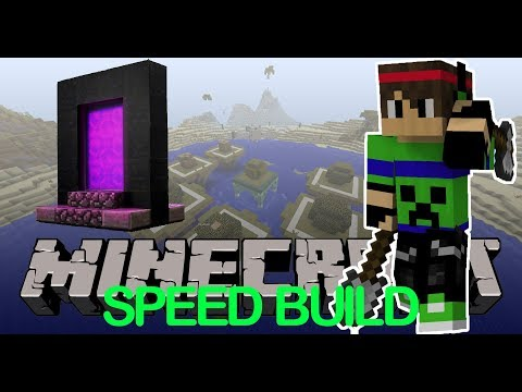 [Destroyer Creeper Bomb Gaming] Minecraft Speed Building #1 - Quá Easy !!!
