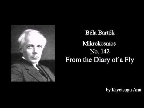 Mikrokosmos - No. 142, From the Diary of a Fly / Béla Bartók