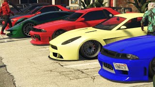 GTA 5 CAR MEET | chill/cruise | ps4