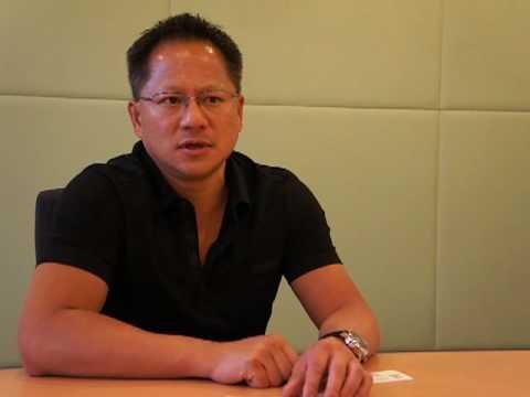 엔비디아 젠슨 황 CEO 인터뷰, NVIDIA Jen-Hsun Huang Interview 1