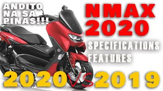 Yamaha NMAX 2020 vs Yamaha NMAX 2019 | Comparison