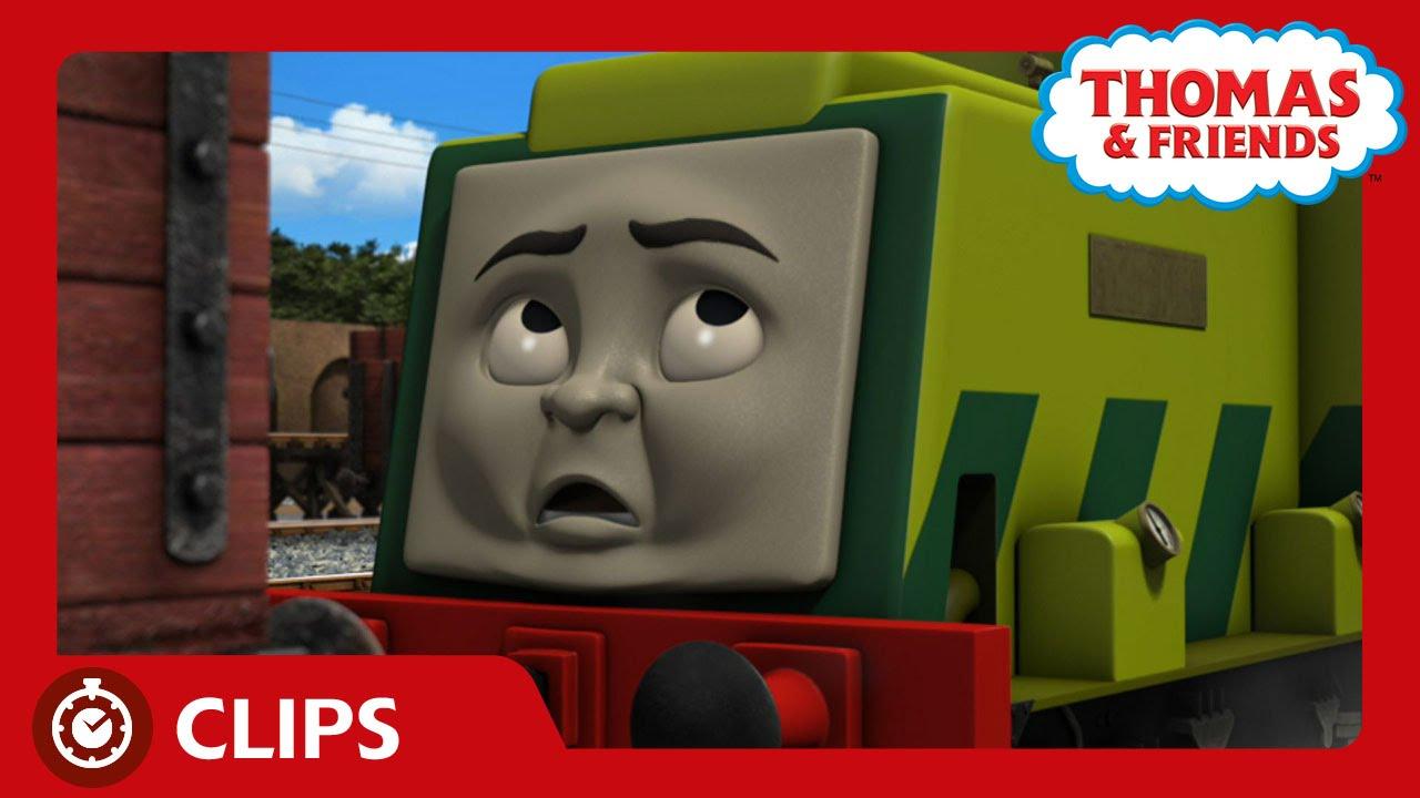 scruff    engine clips thomas friends youtube