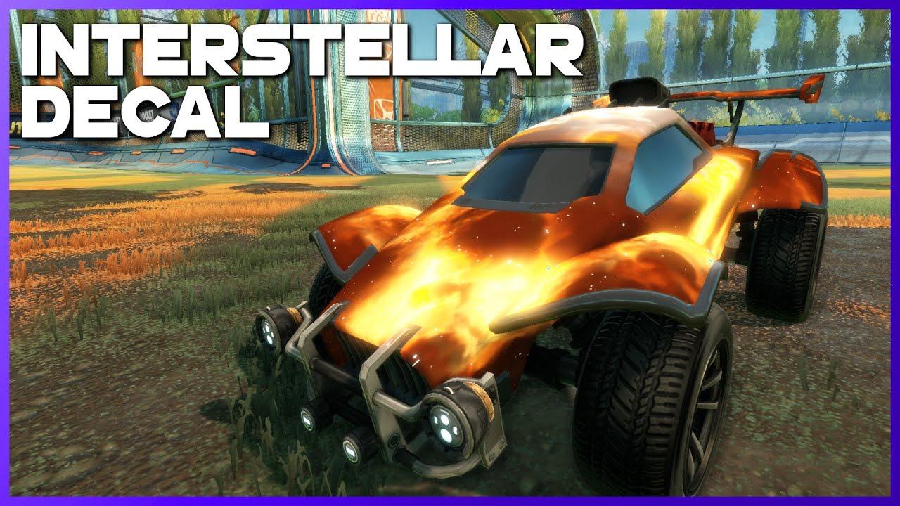 Interstellar Black Market Decal Showcase Momentum Blueprint Series Youtube