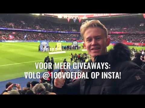 Giveaway voetbalreis psg bordeaux 100%voetbal youtube