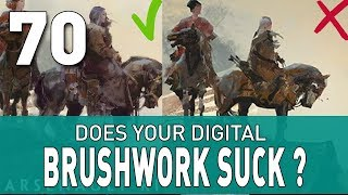 DOES YOUR BRUSHWORK SUCK?? Tips & strategies