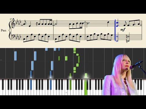 Sia - Bird Set Free - Piano Tutorial + Sheets
