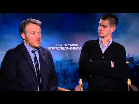 The Amazing Spider-man 2 interview w/ Andrew Garfield and Marc Webb