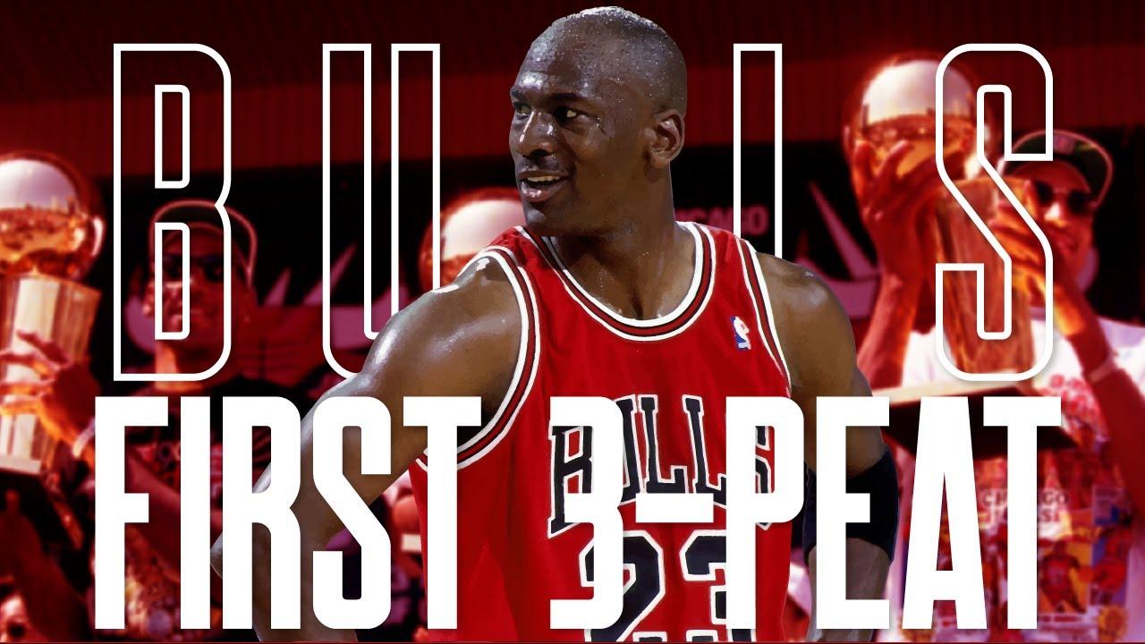 Chicago Bulls First 3-Peat Full Movie