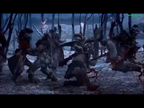 Best fight scenes of Spartacus  Blood and Sand HD