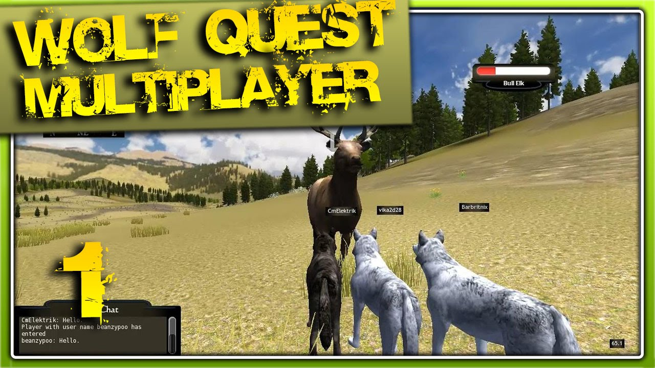 WolfQuest Multiplayer - 1 серия [Первая Охота] - YouTube - photo#12