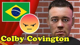Colby Covington Stand up Comedy Show !