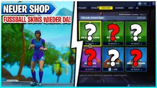 ⚽ hM ? FUSSBALL Skins de retour à Fortnite Shop 01.06 🛒 Battle Royale - Save the World
