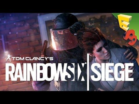 rainbow six siege gameplay hands on destructibility. Black Bedroom Furniture Sets. Home Design Ideas
